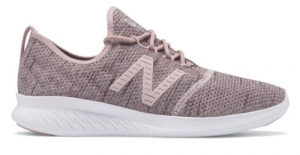 ihocon: New Balance Women's FuelCore Coast v4 Hoodie Shoes Pink with Pink  女鞋