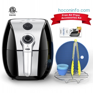 ihocon: HOLSEM Air Fryer with Rapid Air Circulation System, 3.4 QT 氣炸鍋