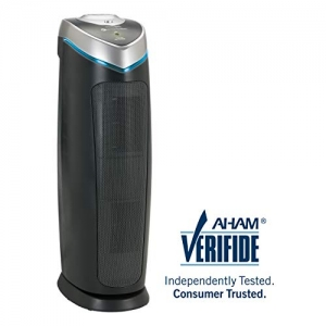 "ihocon: GermGuardian AC4825 22"" 3-in-1 Full Room Air Purifier, True HEPA Filter, UVC Sanitizer 空氣淨化器/空氣清淨機"
