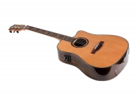 ihocon: Monoprice Idyllwild Cedar Solid Top Acoustic Electric Guitar with Fishman Pickup Tuner and Gig Bag