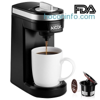 ihocon: Aicok Single Serve Coffee Maker膠囊咖啡機