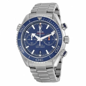 ihocon: 瑞士歐米茄OMEGA 海馬系列鈦金機械男錶Seamaster Planet Ocean Chronograph Automatic Men's Watch, Item No. 232.90.46.51.03.001