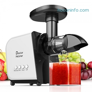 ihocon: Doctor Hetzner Slow Masticating Juicer with Reverse Function, Cold Press Juicer Machine 慢磨冷壓榨汁機