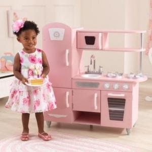 ihocon: KidKraft Vintage Play Kitchen兒童遊戲廚房