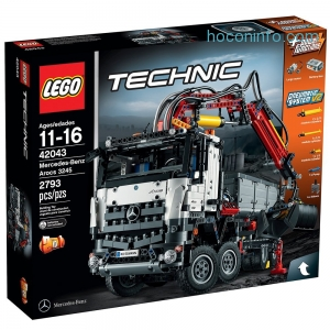 ihocon: LEGO Technic Mercedes-Benz Arocs 3245 42043 Building Kit