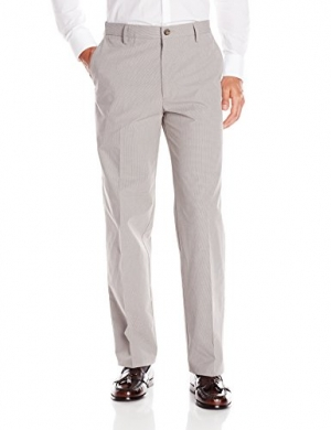 ihocon: Dockers Men's Signature Khaki Flyweight Classic Fit Flat Front Pant 男士長褲