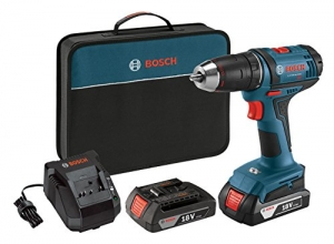 ihocon: Bosch DDB181-02 18V Cordless Lithium-Ion 1/2 Compact Tough Drill Driver Kit無線電鑽組