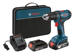 ihocon: Bosch DDB181-02 18V Cordless Lithium-Ion 1/2 Compact Tough Drill Driver Kit無線電鑽組