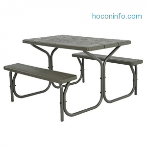 ihocon: Lifetime 4-Foot Picnic Table野餐桌