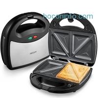 ihocon: Aicok 3-in-1 Detachable Non-stick Sandwich Maker/Panini Press/Waffle Maker
