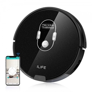 ihocon: iLife A7 Smart Robotic Vacuum Cleaner (Black) 吸地機器人