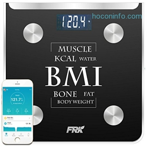 ihocon: FRK Bluetooth Body Fat Scale體脂體重計