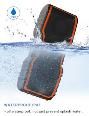 ihocon: AOMAIS Sport II Bluetooth Speakers 4.0 Waterproof IPX7, 20W Bass Sound, Stereo Pairing藍牙無線立體聲防水音箱