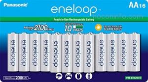 ihocon: Panasonic BK-3MCCA16FA eneloop AA 2100 Cycle Ni-MH Pre-Charged Rechargeable Batteries充電電池