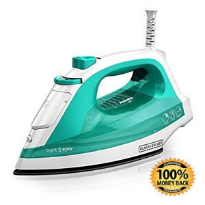 ihocon: ArtMuseKit Light 'N Easy Compact Steam Iron, Turquoise 蒸汽熨斗