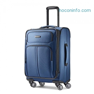 ihocon: Samsonite Leverage LTE Spinner 20 Carry-On Luggage, Poseidon Blue