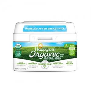 ihocon: Happy Baby Organic Stage 2 Infant Formula Milk Based Powder with Iron, 21 Ounce 有機階段2嬰兒奶粉