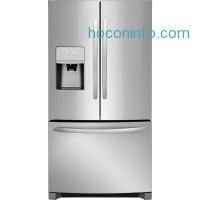 ihocon: Frigidaire 26.8 cu. ft. French Door Refrigerator in Stainless Steel