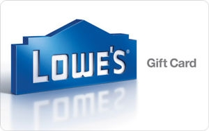 ihocon: $100 Lowe's Gift Card只賣$90!! - FREE 1st Class Mail Delivery