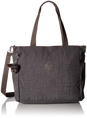 ihocon: Kipling Lindsay Solid Tote Bag, Dusty Grey
