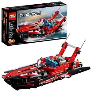 [2019年新品] LEGO樂高Technic Power Boat 42089 (174 Piece) $11.99(原價$14.99, 20% Off)