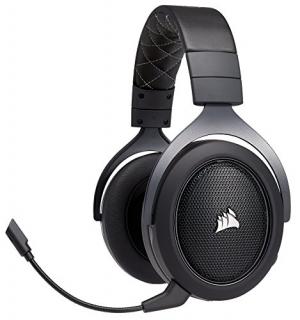 ihocon: Corsair HS70 Over-Ear Wireless Bluetooth Gaming Headphones (Black) 無線遊戲耳機
