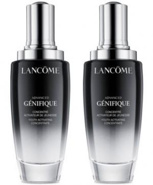 Lancome有很棒的優惠, 精華液買2可7折, 或是買大送小, 還有很多…