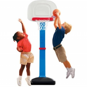 ihocon: Little Tikes TotSports Easy Score Basketball Set兒童籃球框+球