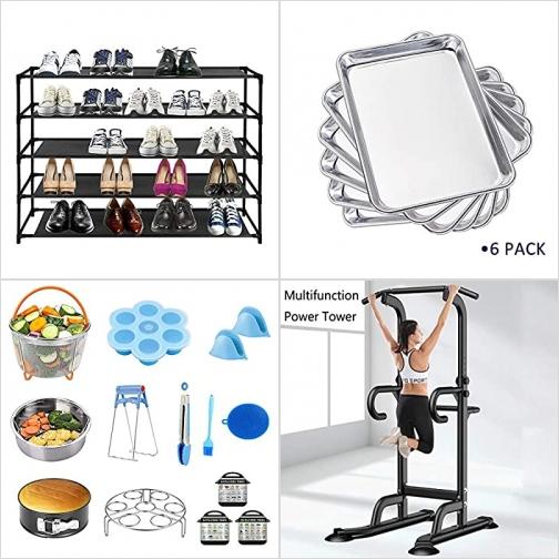 [Amazon折扣碼] 鞋架, 烤盤, 壓力鍋配件, 健身器材 額外折扣!