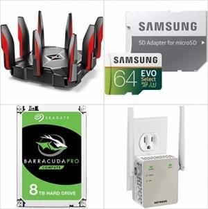 [今日特賣] Amazon: networking and storage電腦配備 up to 40% off