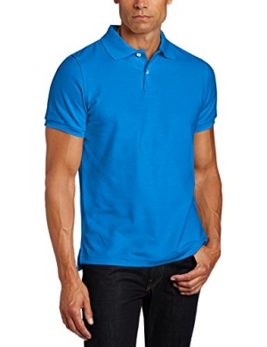 ihocon: Lee Uniforms Men's Modern Fit Short Sleeve Polo Shirt