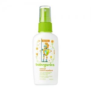 ihocon: Babyganics Natural Insect Repellent, 2 oz, 天然防蚊/防蟲液