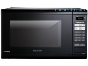 ihocon: Panasonic 1.2 Cu. Ft. 微波爐Countertop Microwave Oven with Inverter Technology™ - Black - NN-SN651B