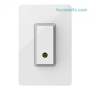 ihocon: Wemo 智能開關 Light Switch (Alexa and Google Assistant)