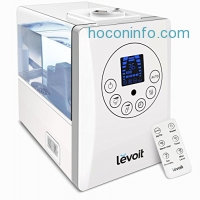 ihocon: Levoit 6L Warm and Cool Mist Ultrasonic Humidifier with Remote and Humidity Monitor 冷/熱室內加濕器