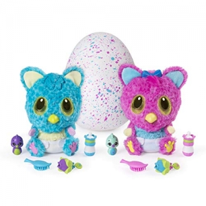 ihocon: Hatchimals, HatchiBabies Cheetree, Hatching Egg with Interactive Pet Baby (Styles May Vary)寵物蛋