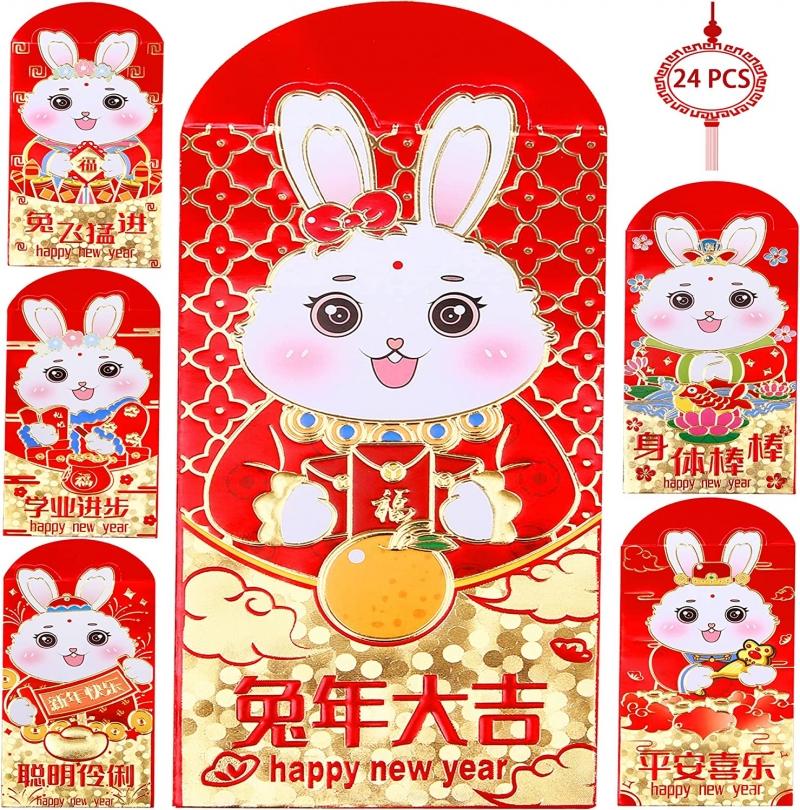 2020 中國新年鼠年紅包 36個 $4.99 / 48個 $5.99 / 72個 $7.59