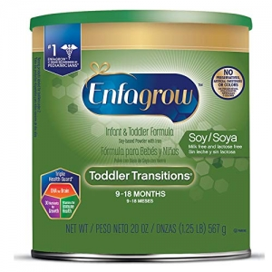 ihocon: Enfagrow Toddler Transitions Soy Formula - Milk & Lactose Free - Powder Can, 20 oz 幼兒豆慣漿飲品