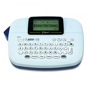 ihocon: Brother P-touch, PTM95, Handy Label Maker, 9 Type Styles, 8 Deco Mode Patterns, White 標籤機