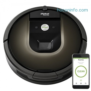 ihocon: iRobot Roomba 980吸地機器人Robot Vacuum - Works with Alexa