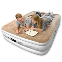 ihocon: Joofo Air Mattress with Built-in Pump, Queen 空氣床, 內建打氣幫