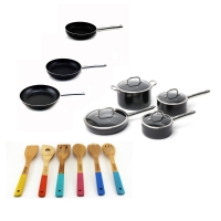 ihocon: BergHOFF EarthChef Boreal 17-Piece Cookware Set with Utensils