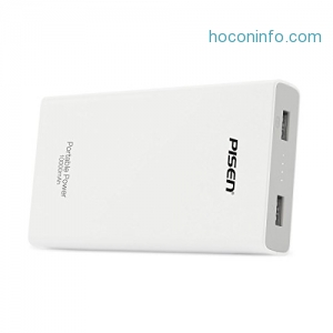 ihocon: PISEN 10000mAh Portable Power Bank行動電源/充電寶