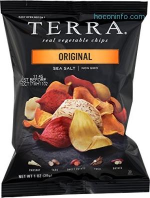ihocon: TERRA Original Chips with Sea Salt, 1 oz. (Pack of 24)