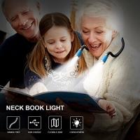 ihocon: Minger Rechargeable LED Book Light 充電式書燈/手電筒