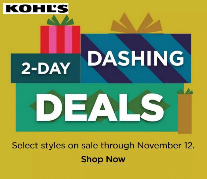 [黑色星期五搶先看] Kohl's 2019 Black Friday折扣快報