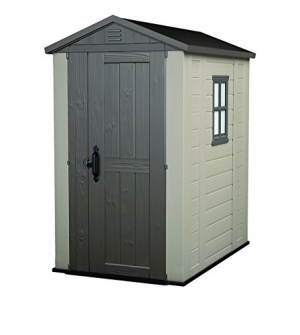 ihocon: Keter Factor 4 x 6 ft. Resin Outdoor Backyard Garden Storage Shed 室外儲藏室