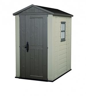ihocon: Keter Factor 4 x 6 ft. Resin Outdoor Backyard Garden Storage Shed 室外儲藏室