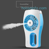 ihocon: CTLpower Mini Misting Cooling Fan充電式手持噴霧小風扇