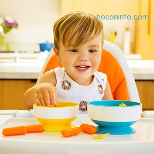 ihocon: Munchkin Stay Put Suction Bowl, 3 Count 兒童吸盤碗